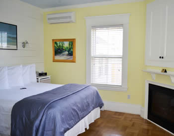 Room 2 is a lovely First floor corner room that overlooks the garden and courtyard